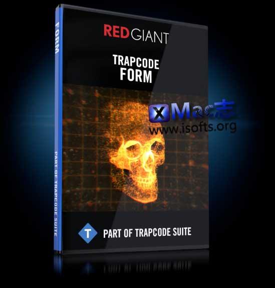 [Mac] AE超炫三维空间粒子插件 : Red Giant Trapcode Form