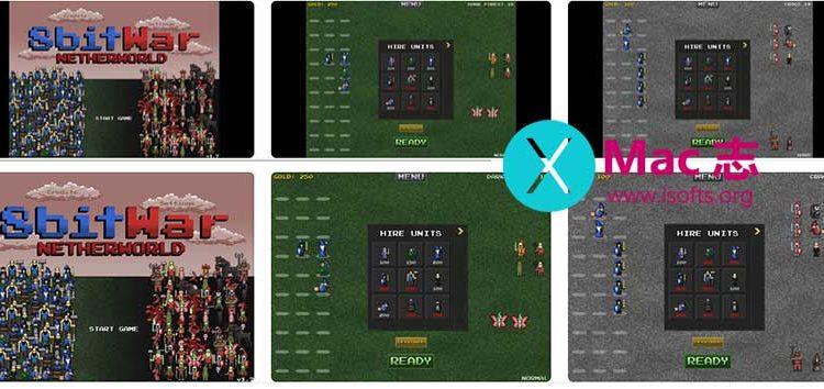 [iPhone/iPad]像素风格战棋游戏 :8bitWar: Netherworld