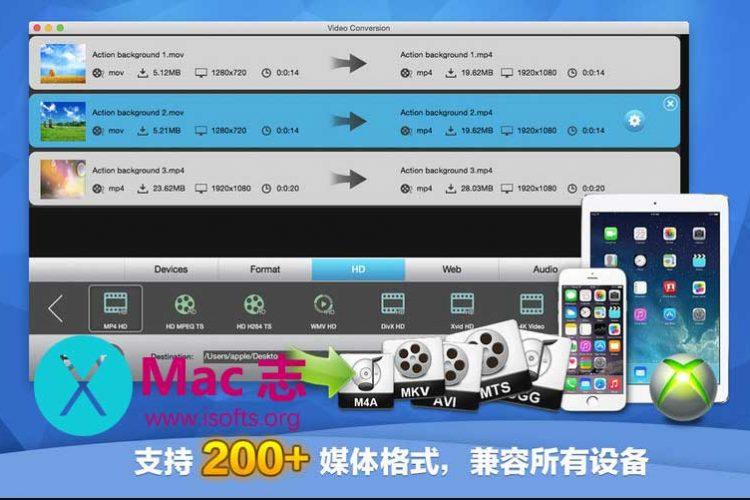 [Mac]全功能音视频编辑软件 :Total Video Tools(完美影音工厂)