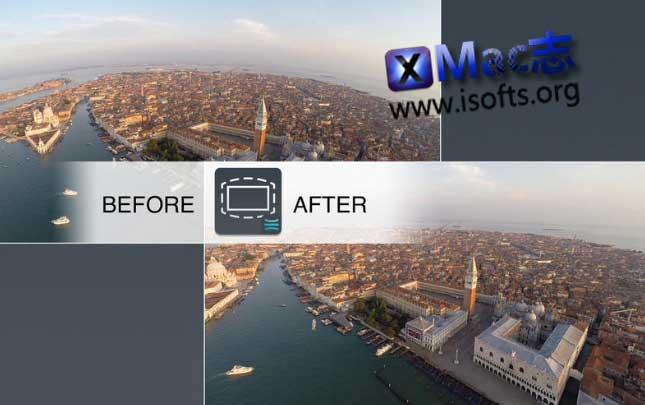 [Mac]鱼眼镜头视频图像畸变校正工具 : liquivid Video Fisheye Removal
