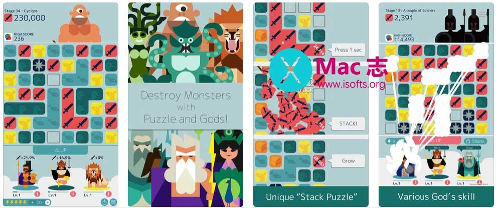 [iPhone/iPad]简单耐玩的消除类游戏 :MUJO