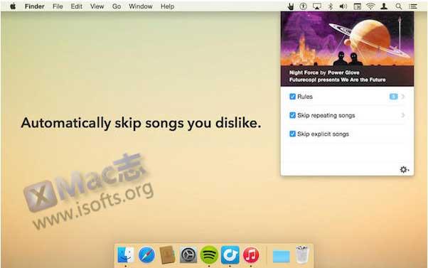 [Mac]自动过滤跳过不喜欢的歌曲 : Denied