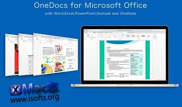 [Mac] Microsoft Office文档编辑工具 : OneDocs