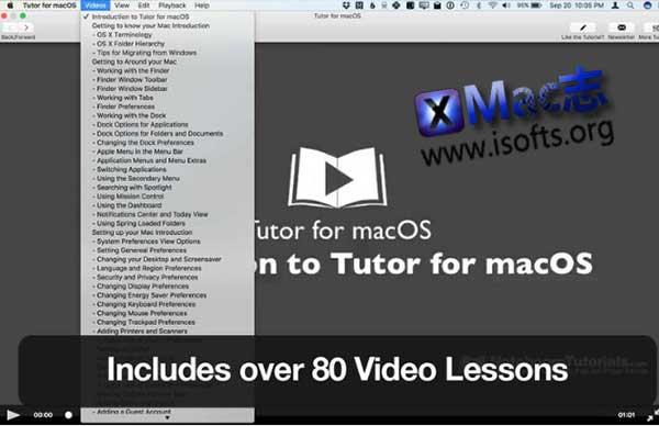 [Mac]实用的macOS视频教程 : Tutor for macOS