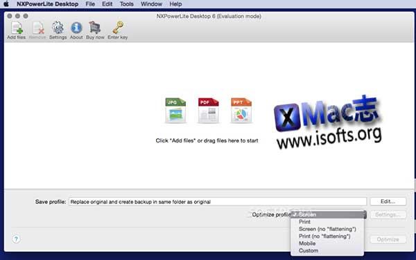 [Mac]文件体积压缩工具 : NXPowerLite Desktop