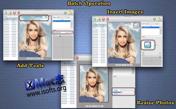 [Mac]图片批量处理工具 : Batch Photo Editor