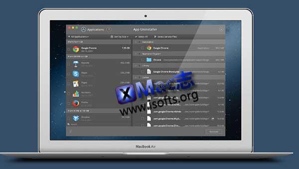 [Mac]应用程序卸载软件 : App Uninstaller
