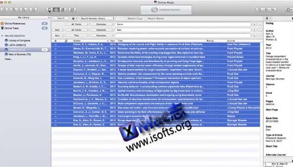 [Mac]最强大的文献管理工具 : Endnote X8