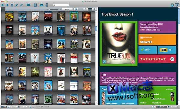 [Mac]电影信息管理工具 : Movie Collector Pro