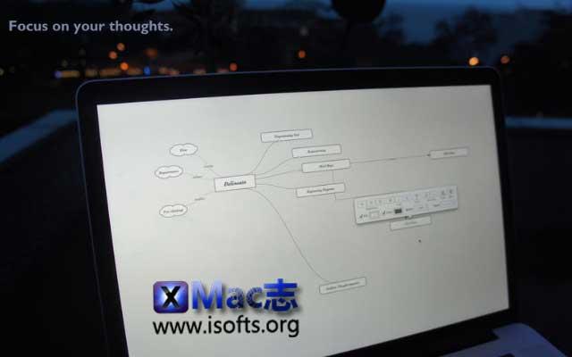 [Mac]思维导图工具 : Delineato Pro