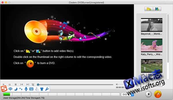 [Mac]可自定义菜单及标题的DVD刻录软件 : Cisdem DVDBurner