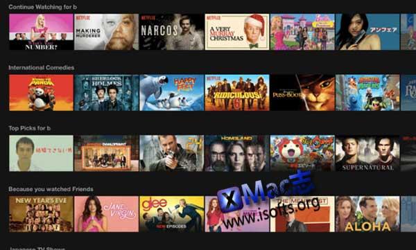 [Mac] 第三方Netflix客户端 : Streaming