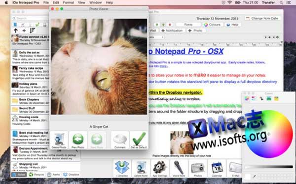 [Mac]日记/游记写作软件 : iDo Notepad Pro