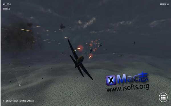 [Mac] Air Strike(空袭) : 飞行射击游戏
