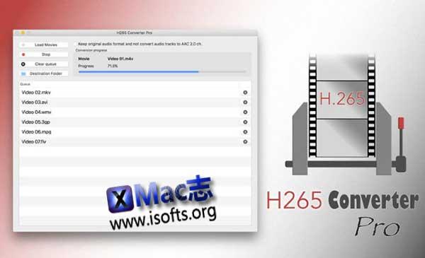 [Mac] mkv转换器 : H265 Converter Pro