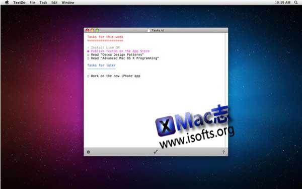 [Mac]笔记记录软件 : TextDo