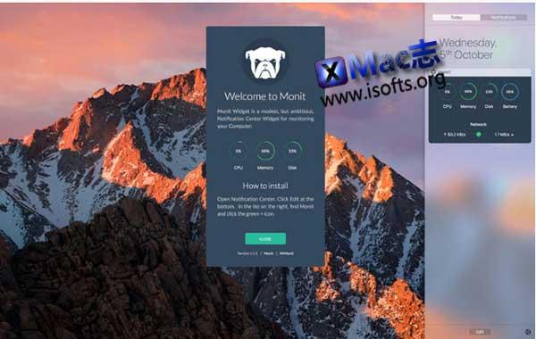 [Mac]系统运行状态监测工具 : MONIT