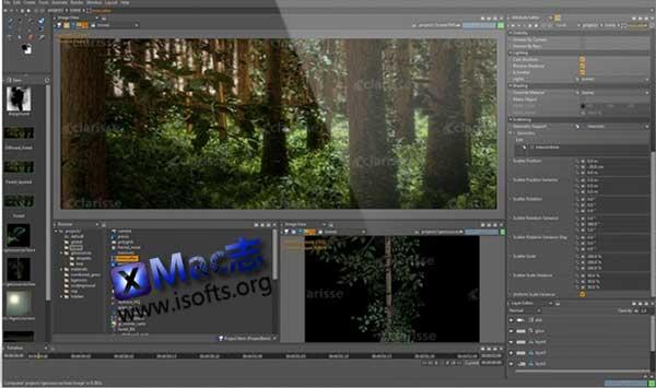 [Mac]动画渲染工具软件 : Isotropix Clarisse iFX