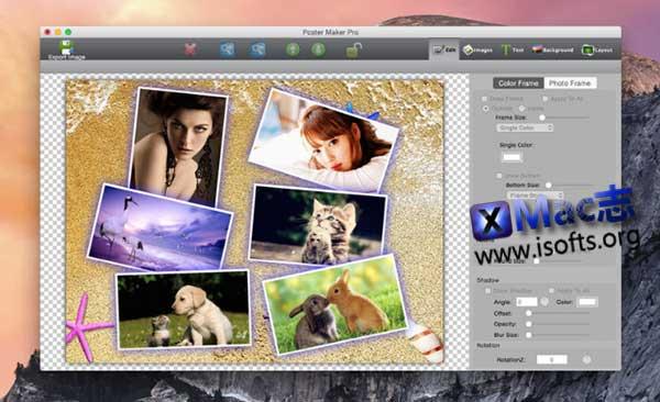 [Mac]海报制作工具 : Poster Maker Pro