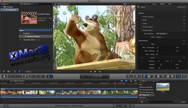 [Mac] DFT特效合成插件 : Digital Film Tools Composite Suite Pro
