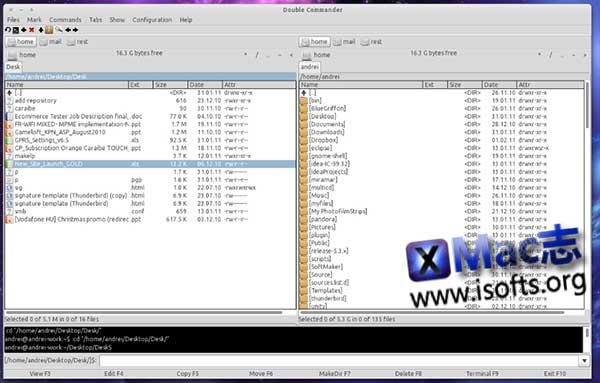 [Mac]双窗口资源管理器软件:Double Commander