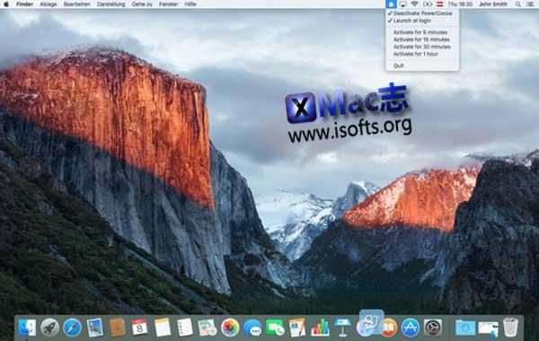 [Mac]让mac不休眠的工具 : PowerCocoa