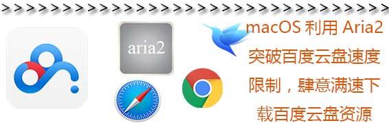 MacOS使用Aria2下载百度网盘 – 突破百度云盘速度限制满速下载百度云资源