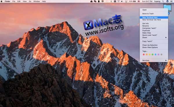 [Mac]在当前位置打开终端 : Cd To