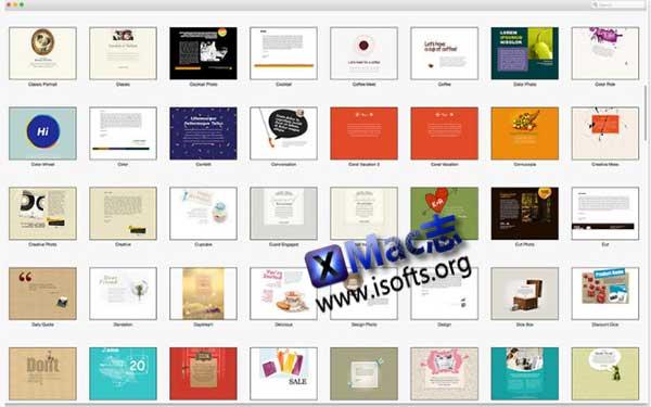 [Mac]邮件模板设计套件 : Mail Stationery