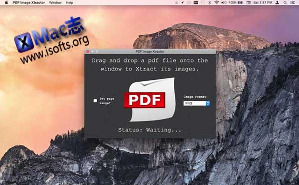 [Mac] pdf批量提取图片工具 : PDF Image Xtractor