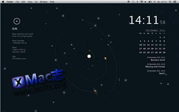 [Mac]太阳星系动态桌面 : Planets