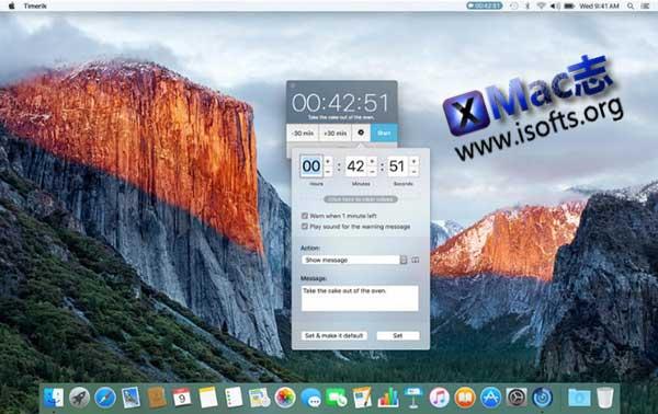 [Mac]定时闹钟软件 : Timerik
