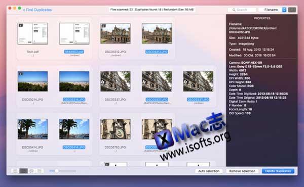 [Mac]重复文件搜索清理工具 : Duplikate