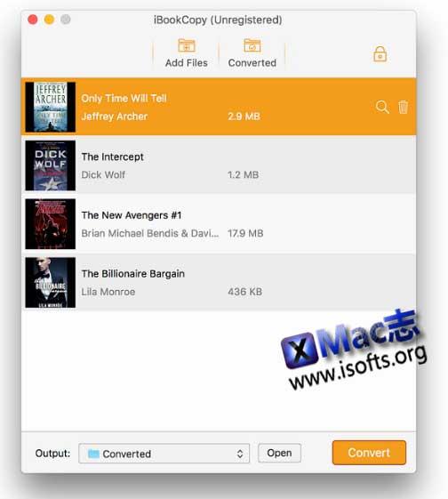 [Mac] iBook的DRM信息清除工具 : iBook Copy