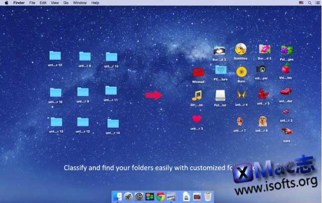 [Mac]文件夹图标设计自定义工具 : Folder Color