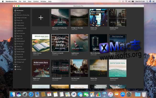 [Mac]专辑封面制作工具 : Membrane Pro