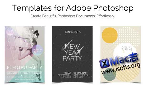 [Mac] Photoshop模板套件 : Templates for Photoshop