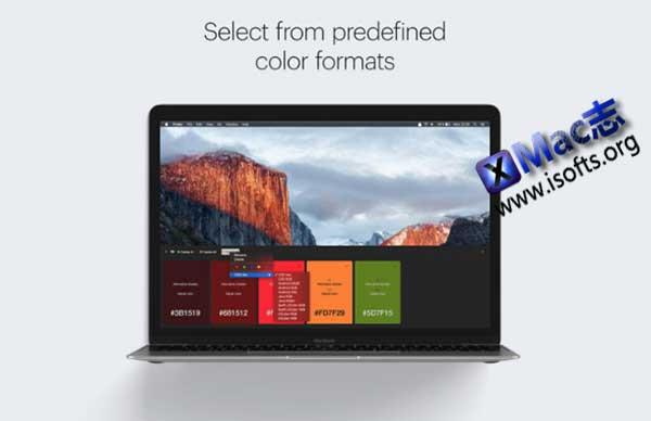 [Mac]屏幕颜色取色器 : Pikka
