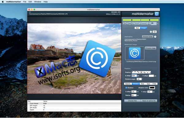 [Mac]图片水印添加工具 : maWatermarker