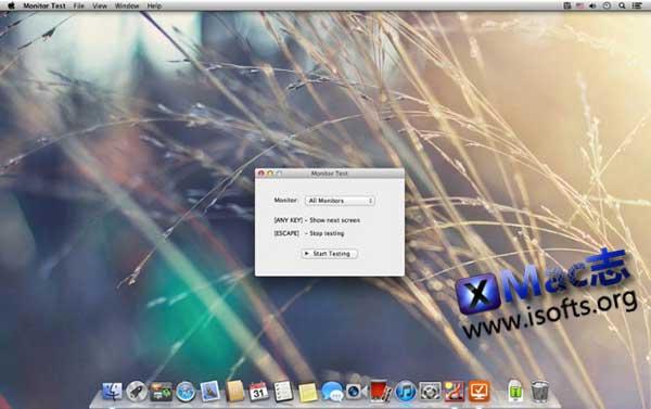 [Mac]屏幕坏点测试工具 : Monitor Test