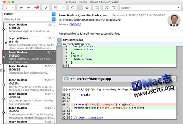 [Mac] Git图形客户端工具 : GitAhead