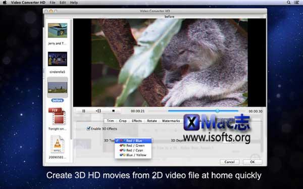 [Mac]高清视频转换工具 :iFunia Video Converter HD