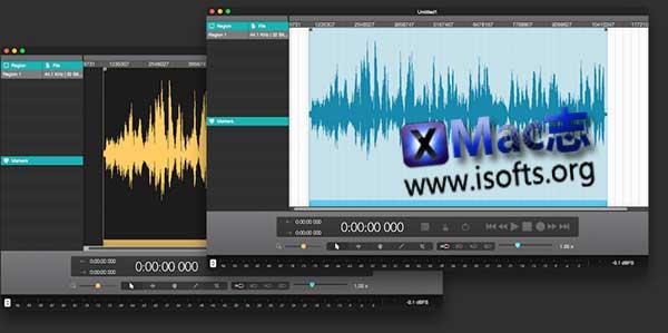 [Mac]音频剪辑软件 : Fluctus
