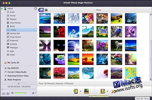 [Mac] iPhone/iPad管理工具 : Xilisoft iPhone Magic Platinum