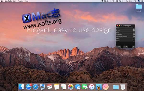 [Mac]任务管理软件 : Nice Todo