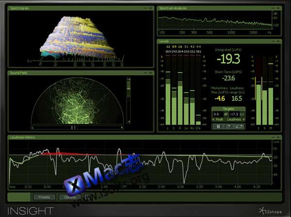 [Mac]完整的音频分析以及母带工具 : iZotope Insight