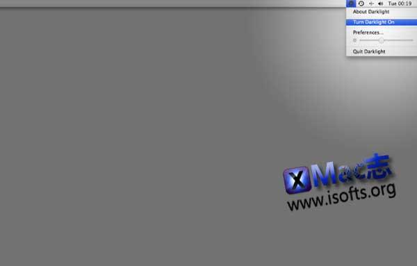 [Mac]屏幕颜色灯软件 : Darklight