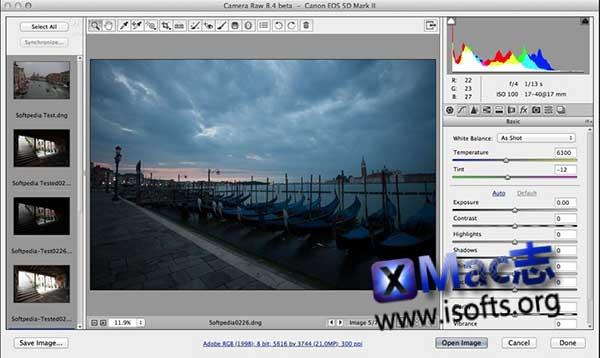 [Mac]最优秀的RAW文件处理工具 : Adobe Camera Raw