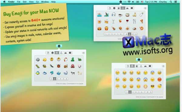 [Mac] emoji表情符号集合包 : Emoji