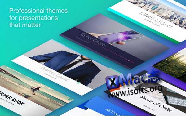 [Mac] Keynote模板套件 : Themes Lab for Keynote